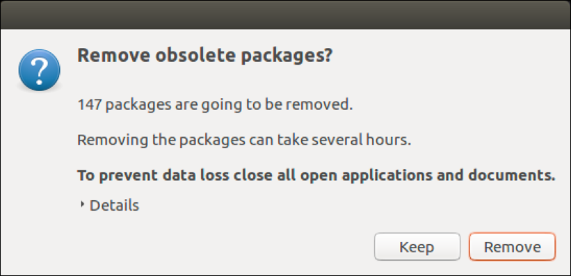 ubuntu remove obsolete packages?