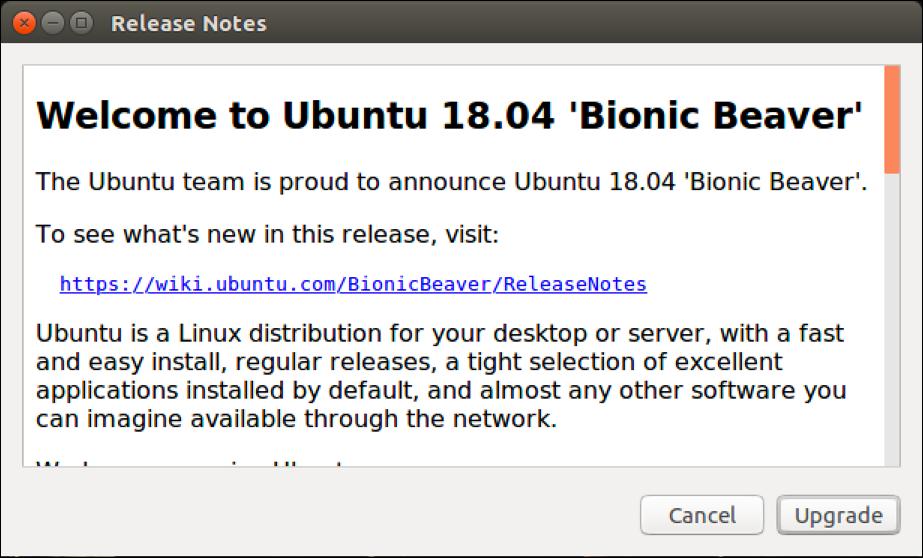 welcome to ubuntu linux 18.04 bionic b