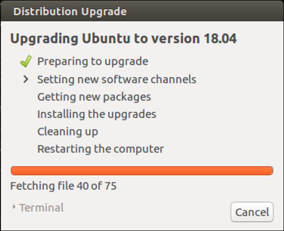 ubuntu upgrade window 1
