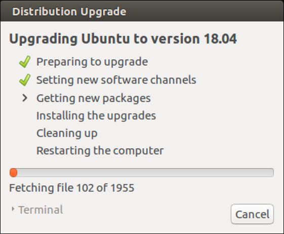 upgrading ubuntu linux 2