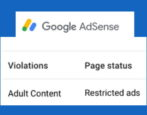 fix repair adsense policy violation