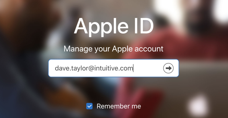 enter apple id appleid.apple.com