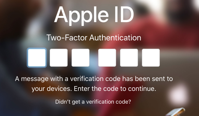 apple id 2-step verification authentication
