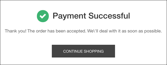 arkartech mall payment successful