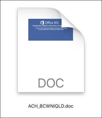 malware .doc file