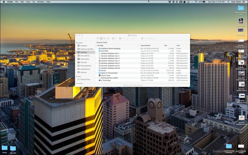dynamic desktop wallpaper mac macbook san francisco
