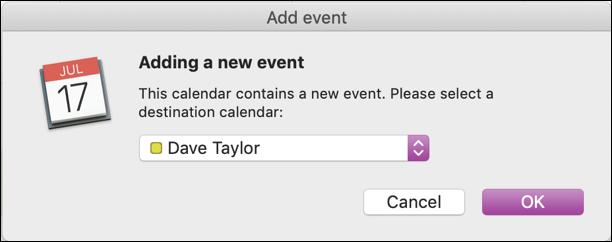 Add a new event calendar ical calendar mac apple