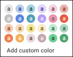 change label color name gmail google mail