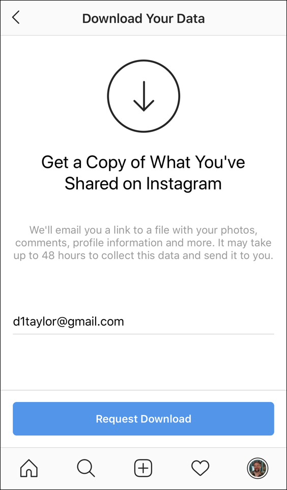 download everything from instagram