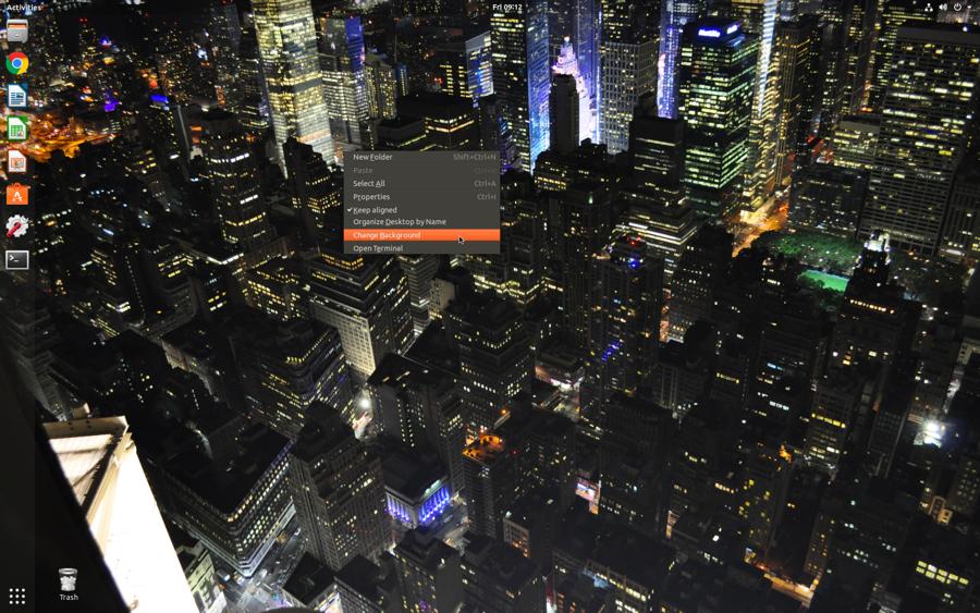 busy linux ubuntu desktop wallpaper
