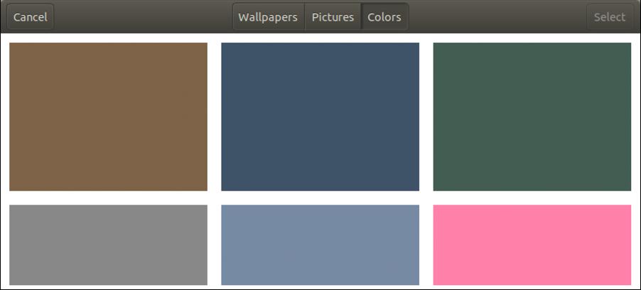 ubuntu linux wallpaper desktop solid colors
