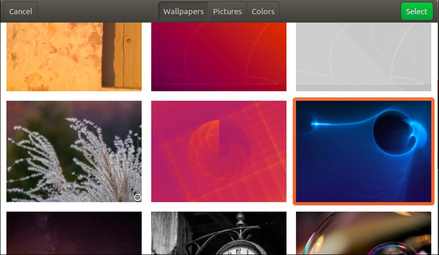 choose new ubuntu linux wallpaper