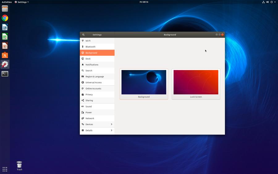 wallpaper desktop image - ubuntu linux