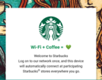 connect google starbucks wifi wireless network - android 8.0 oreo phone