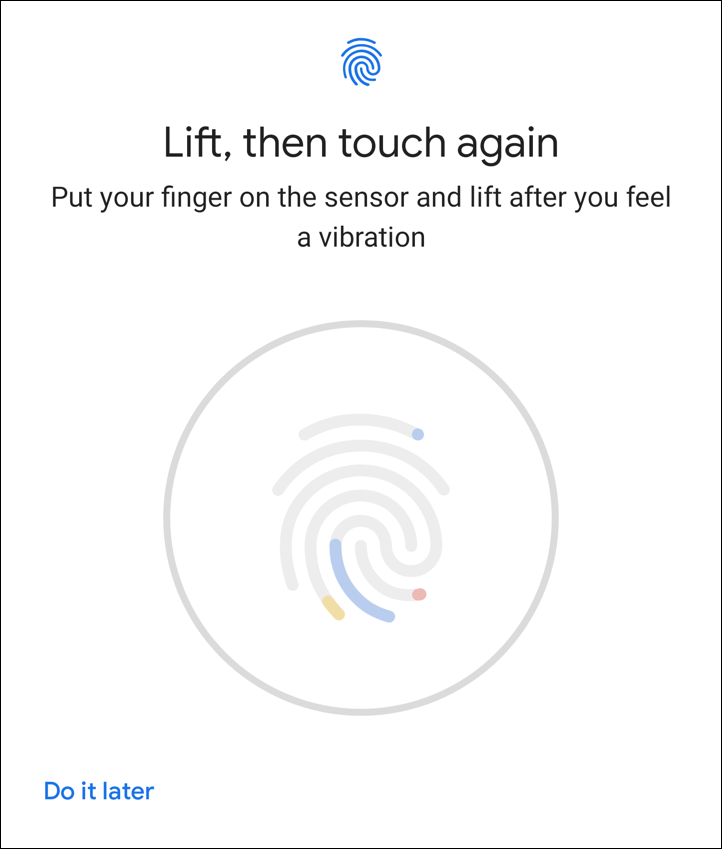 add fingerprint pixel imprint android fingerprint unlock security