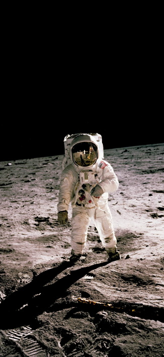 nasa astronaut moon lunar buzz aldrin wallpaper image