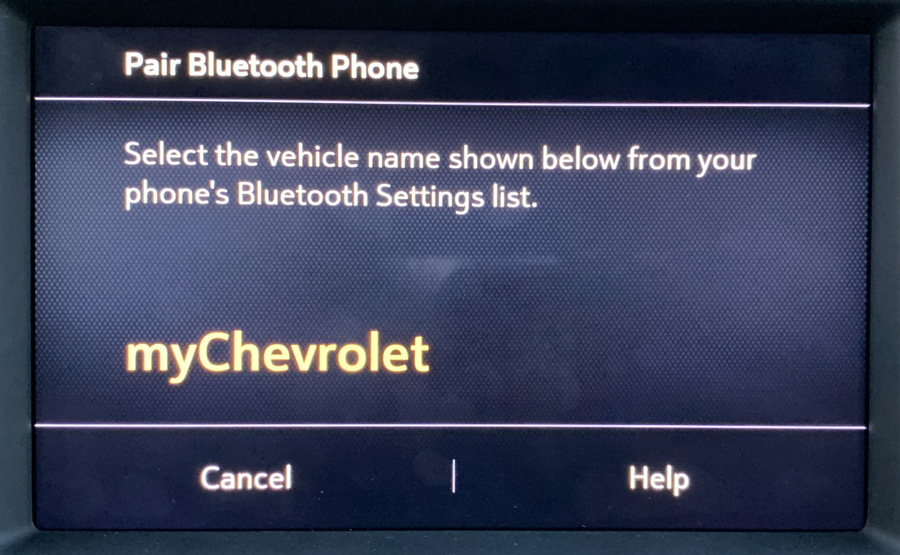 add phone, chevy chevrolet vehicle