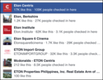 facebook find correct business page at-notation post