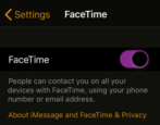 turn off disable facetime group chat iphone ios