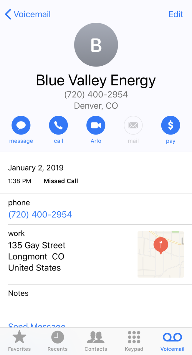 new phone contact info - iphone ios 12