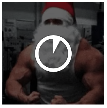 downloading muscle santa animated gif