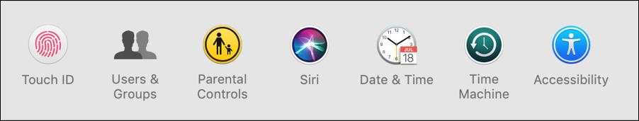 system preferences - mac - assistive