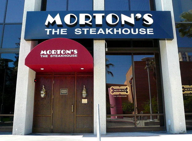 morton the steakhouse signage - from flickr public domain