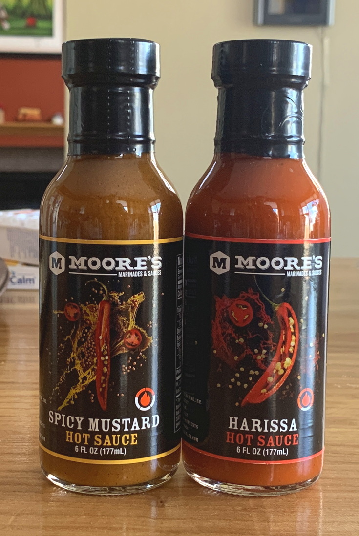 cropped moore's hot sauce photo