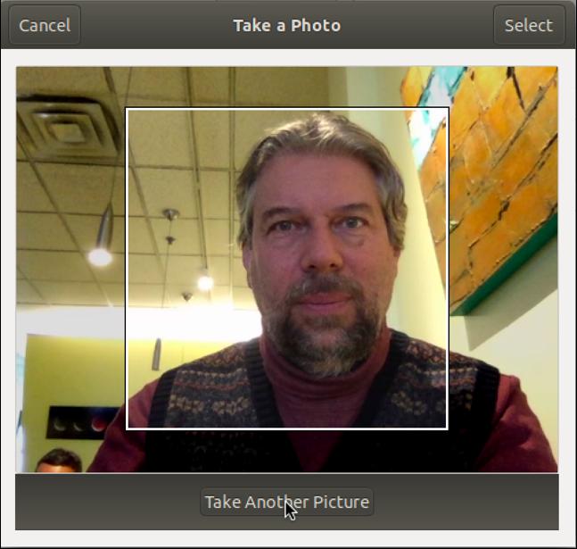 linux webcam selfie crop zoom