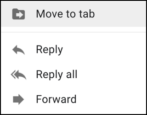 gmail right click context menu updates improvements