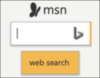 add msn search box web page html form coding reverse engineering