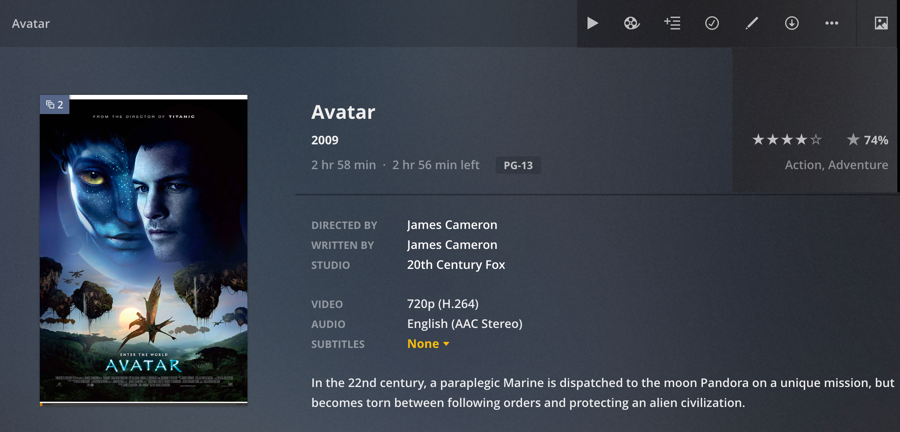 plex avatar editions releases cuts