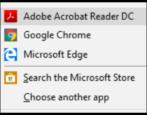 make adobe acrobat reader default pdf viewer windows win10