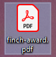 pdf document created print printer win10