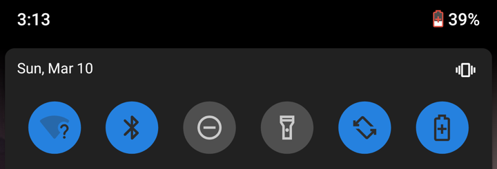android 9 battery saver enabled