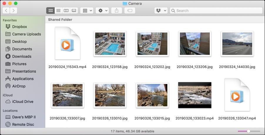 android samsung galaxy s8 s10 photos - mac finder