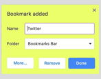 how to edit delete update bookmarks google chrome web browser help