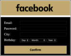 facebook security verify account scam phishing attack
