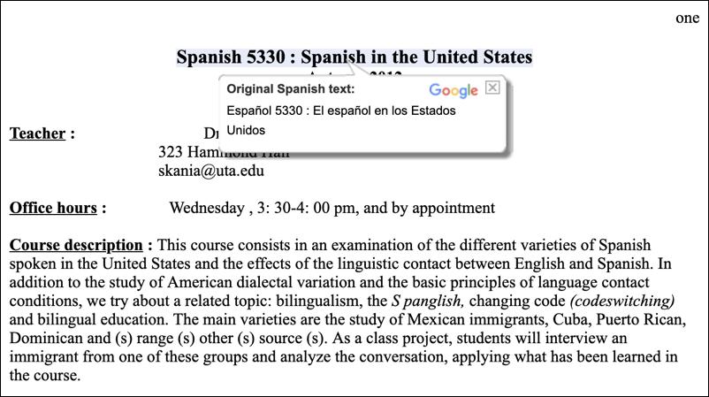 google translate - document spanish english doc docx