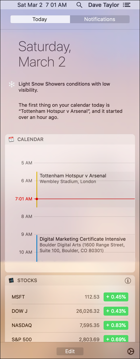 mac notifications center