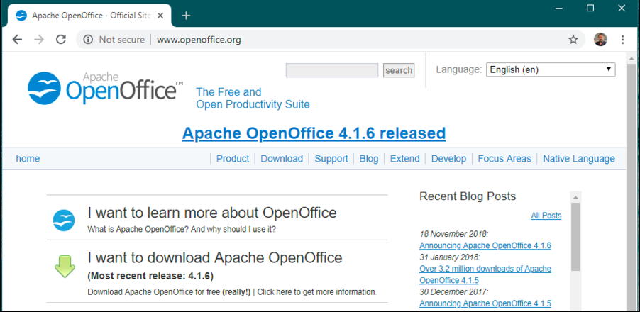 openoffice . org home page