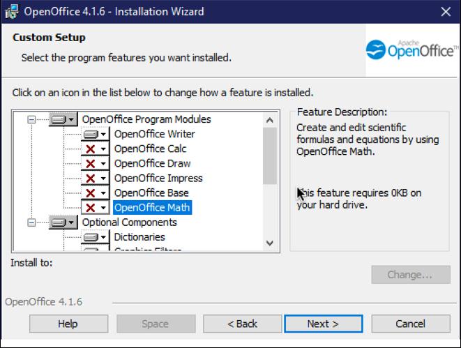 open office windows 10 win10 custom install