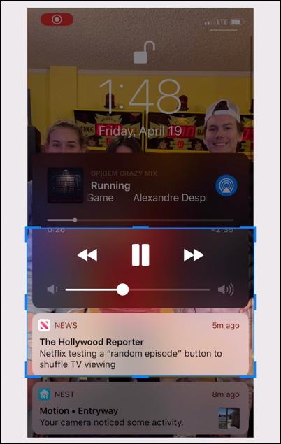 tight crop - iphone screen capture