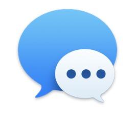 mac macos messages imessage app program icon