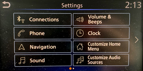 Fast way to delete a phone from Nissan car bluetooth system
