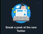 twitter dark mode - twitter new ui 2019