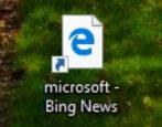 web shortcuts google chrome microsoft edge windows win10