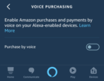 disable voice purchases alexa amazon echo pin