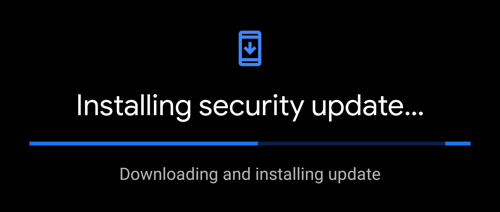 android - installing security update 2