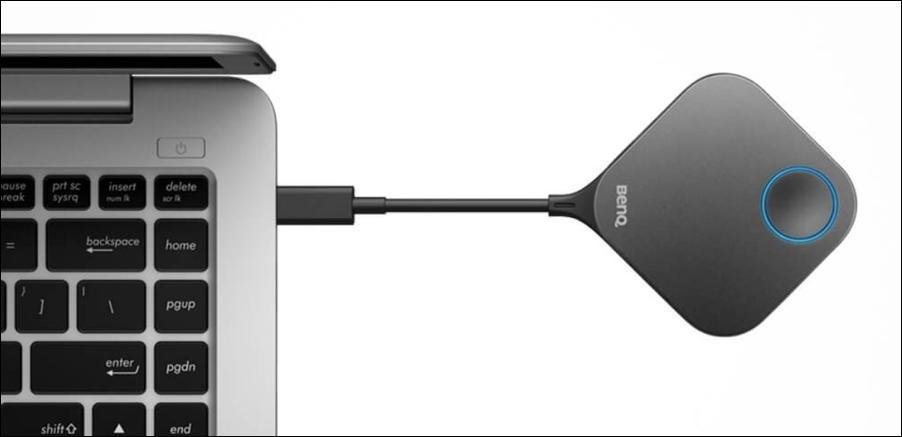 benq instashow - usb-c connection mac macbook
